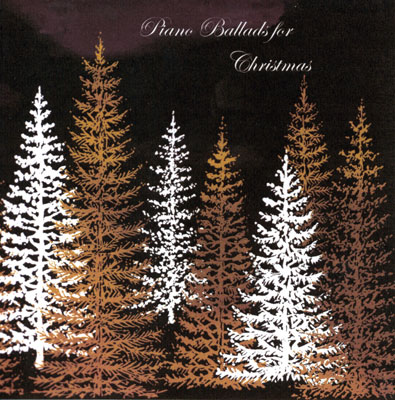Piano Ballads for Christmas - cover